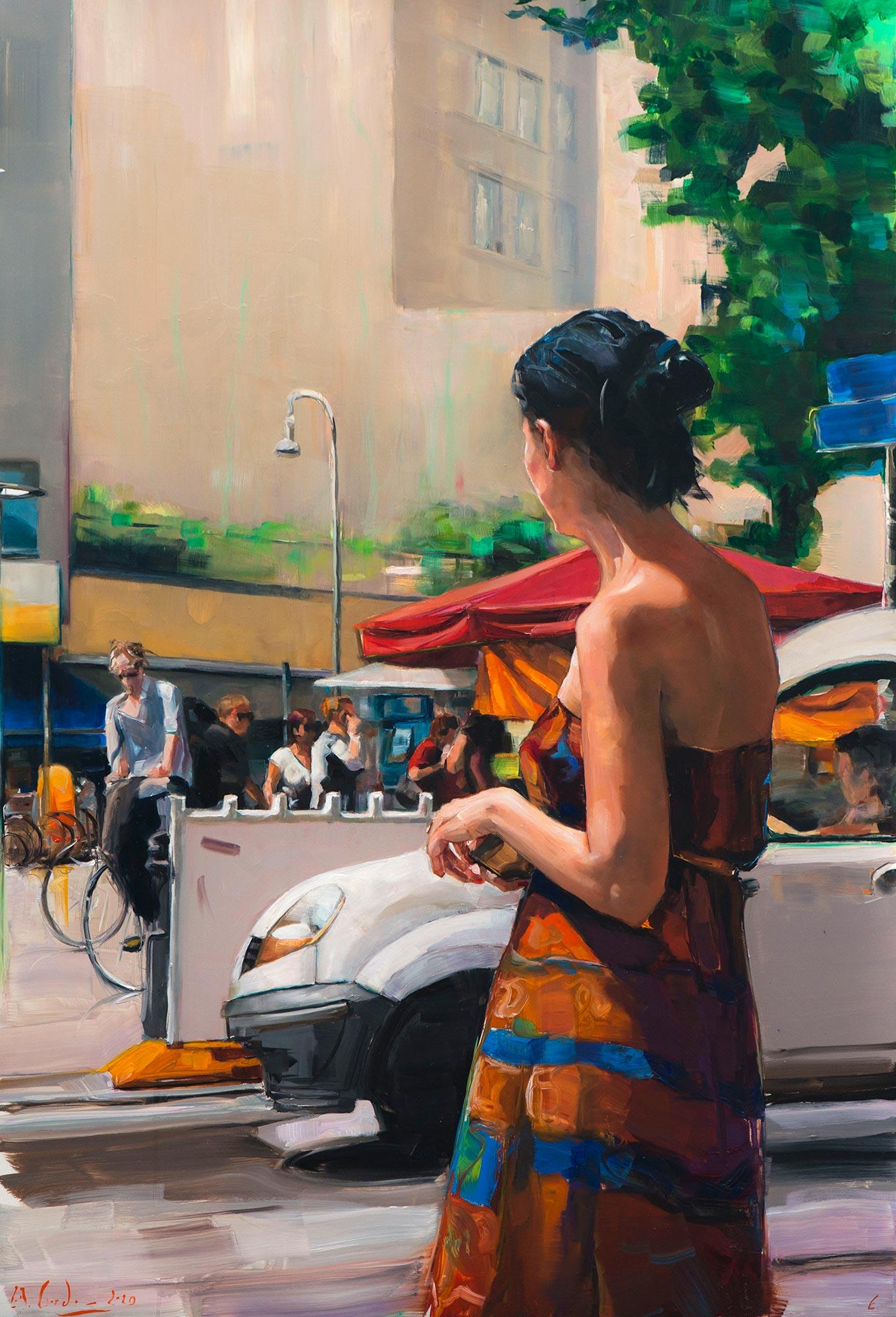 "Bild ""A summer painting"" (2020) (Unikat)"