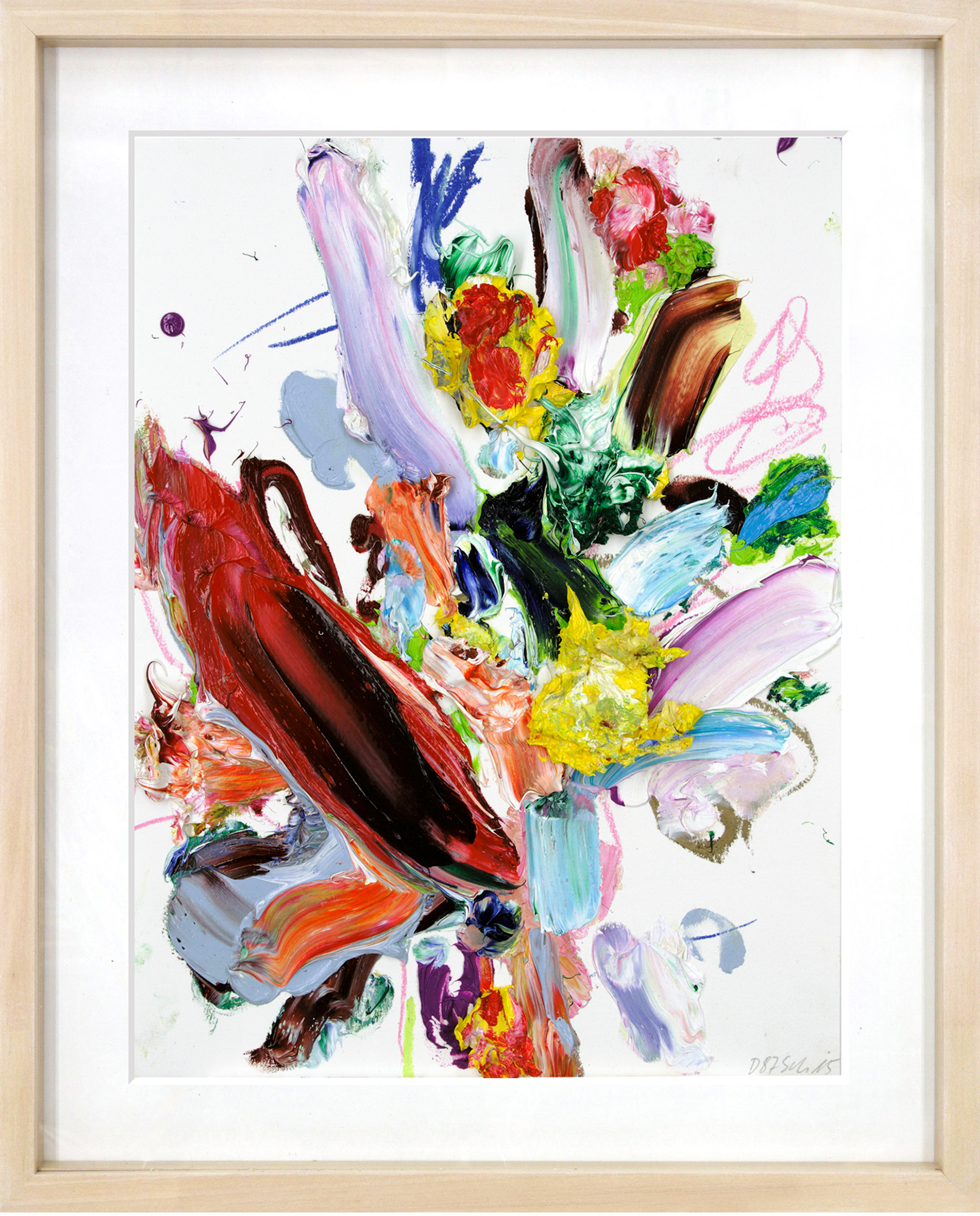 "Bild ""Draw Up (87)"" (2015) (Unikat)"