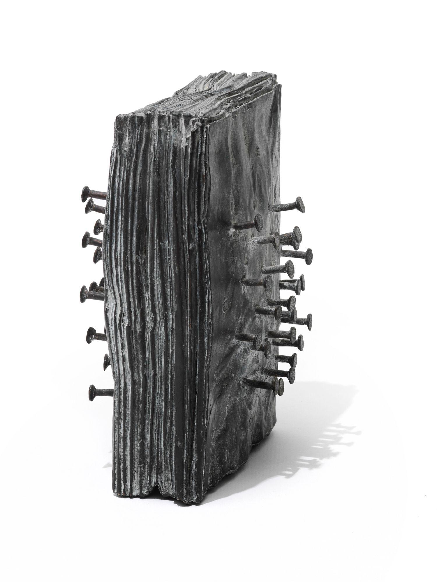 """Skulptur """"Zeitungsblock"""" (2012)"""