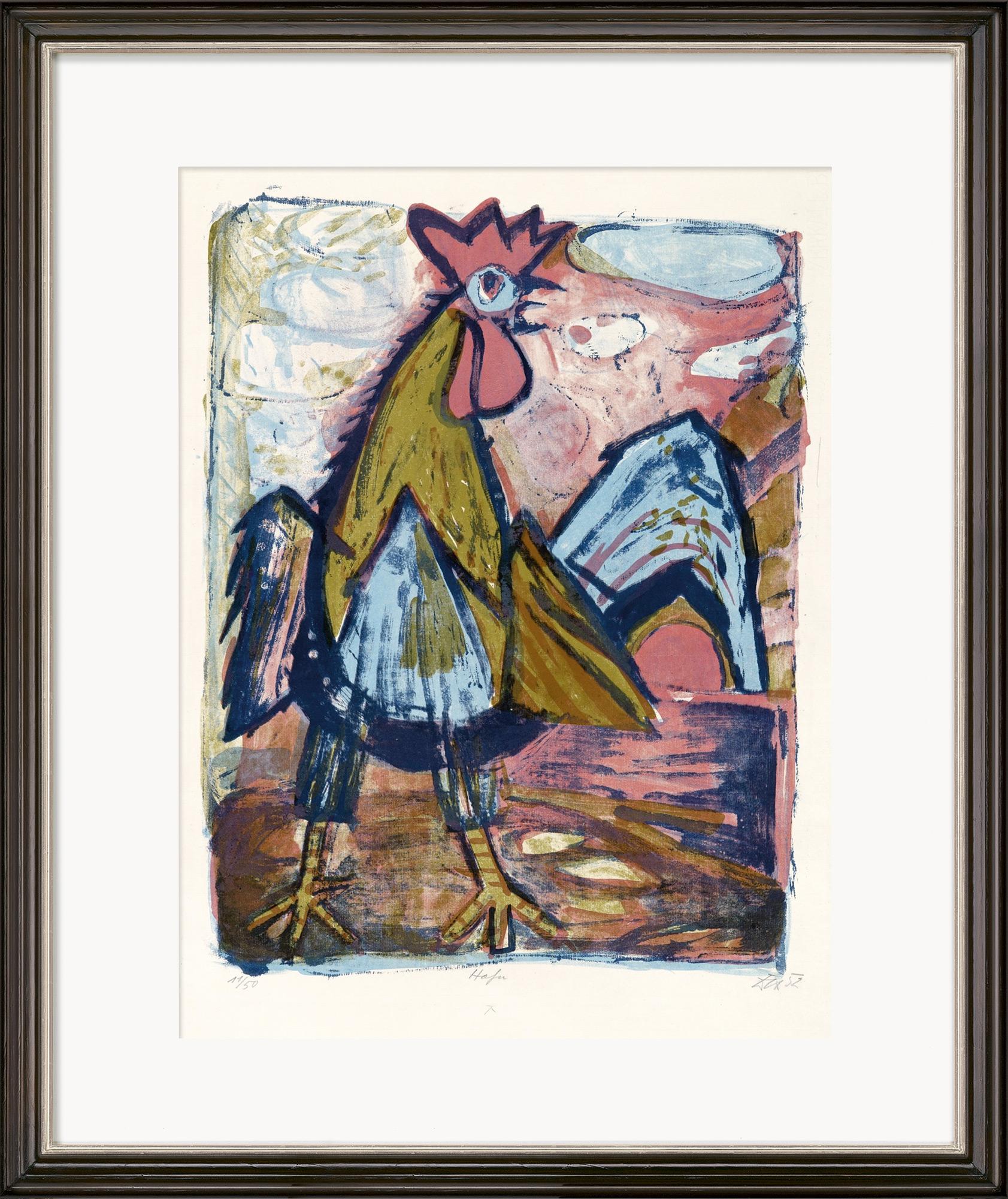 """Bild """"Hahn"""" (1952)"""