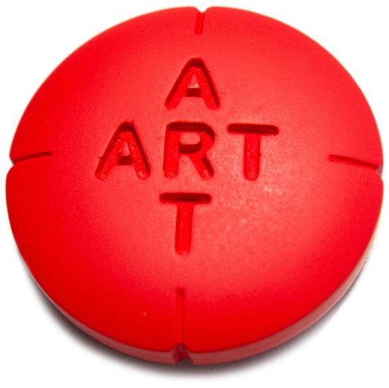 """Objekt """"Pill for Art (Ceramic)"""" (2019), Keramik, Exklusiv-Edition für ARTES"""