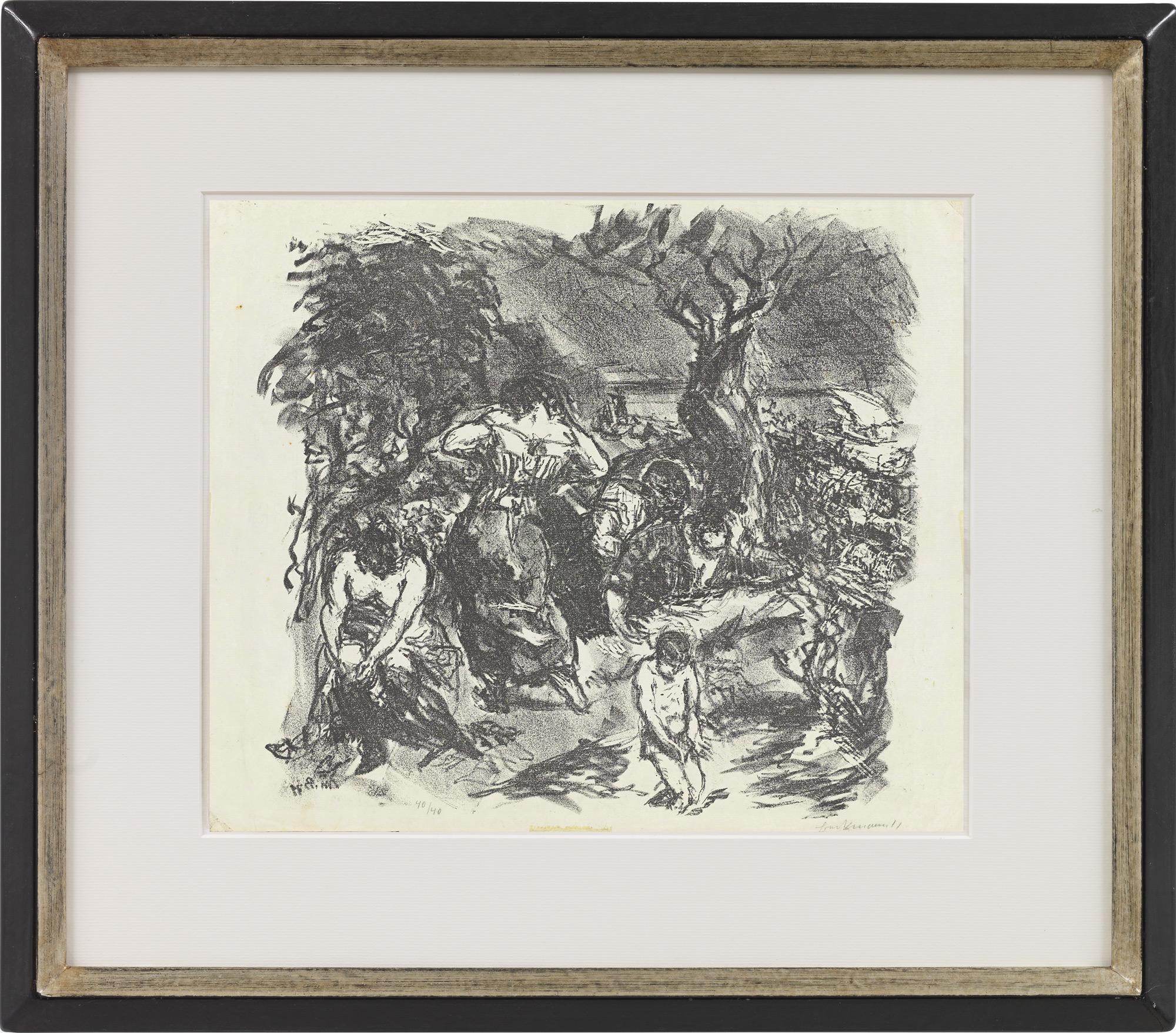 """Bild """"Tegeler Freibad"""" (1911)"""