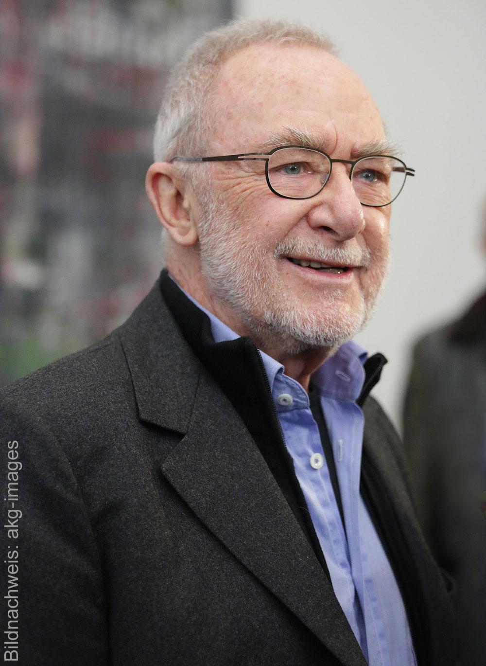 Porträt des Künstlers Gerhard Richter