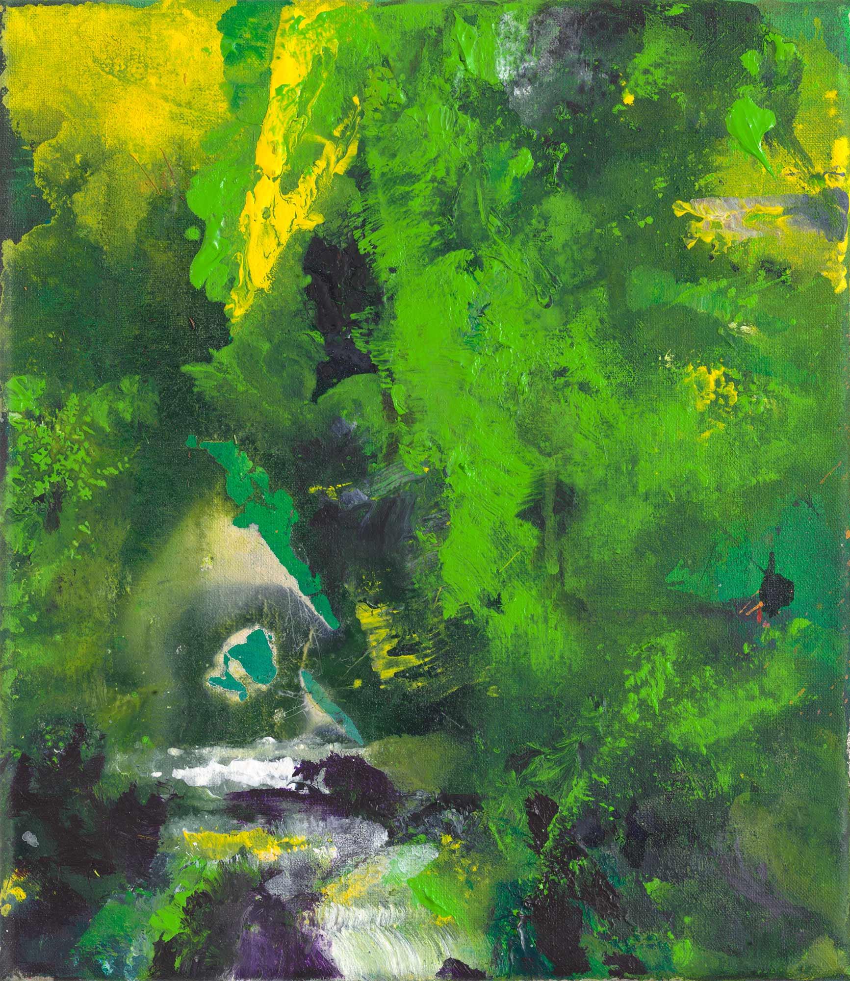 """Bild """"Wasserfall"""" (2013/19/20) (Unikat)"""