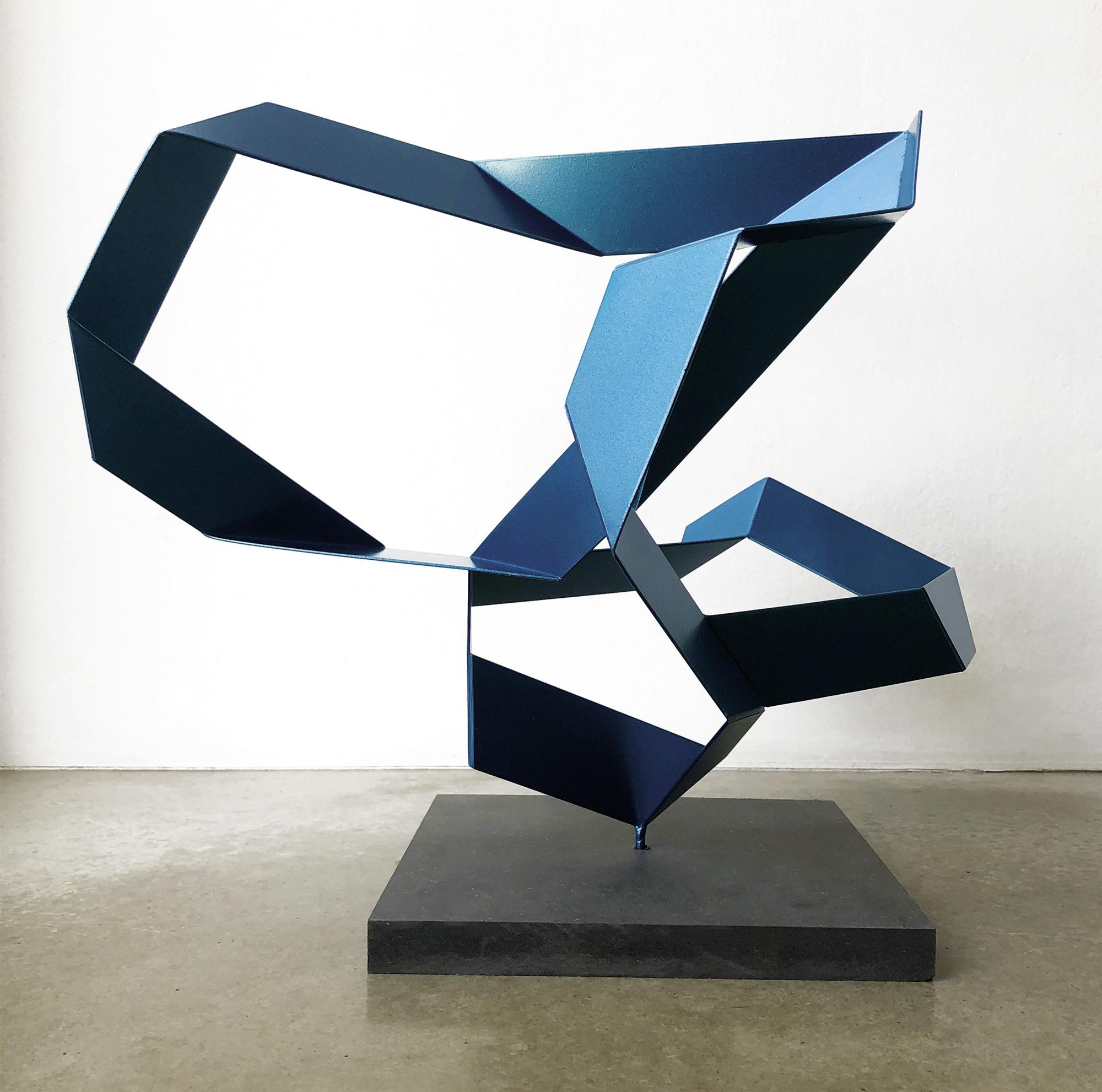 "Skulptur ""Fraktal #144"" (2020) (Unikat), Stahl"