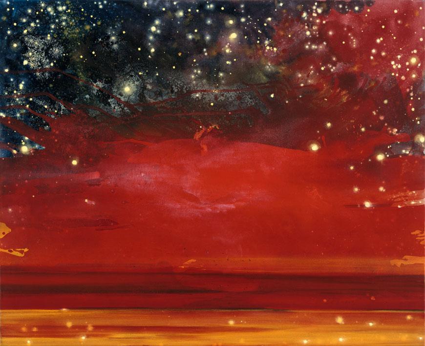 "Bild ""Mittsommer. Rot"" (2005) (Unikat)"