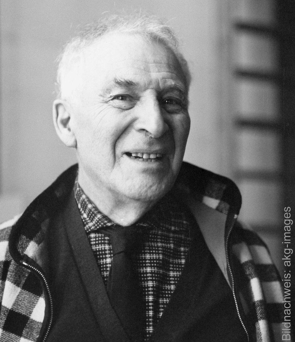 Porträt des Künstlers Marc Chagall