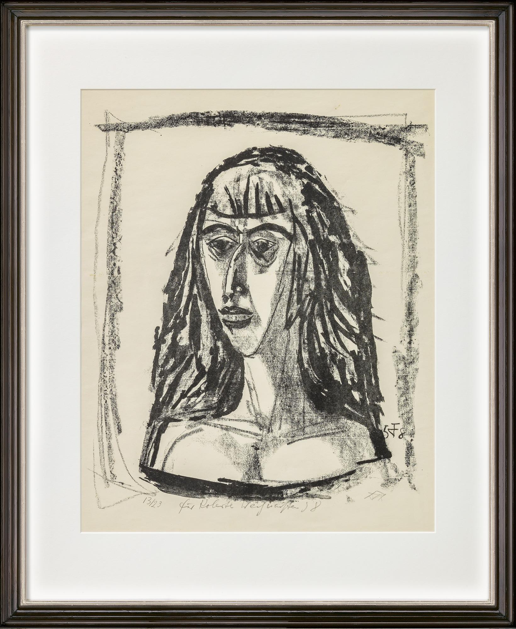"""Bild """"Französin"""" (1958)"""