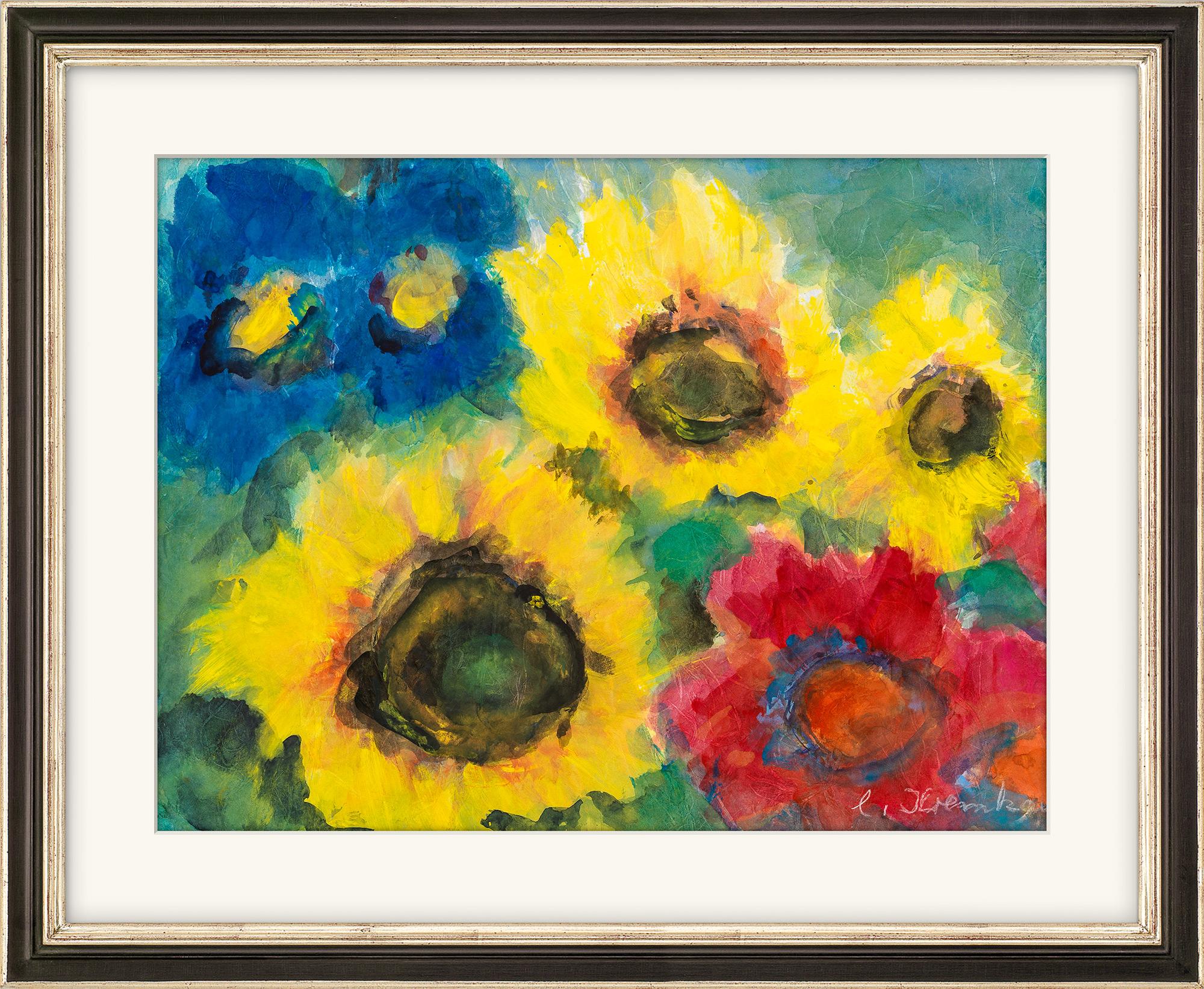"Bild ""Sonnenblumen"" (2020) (Unikat)"