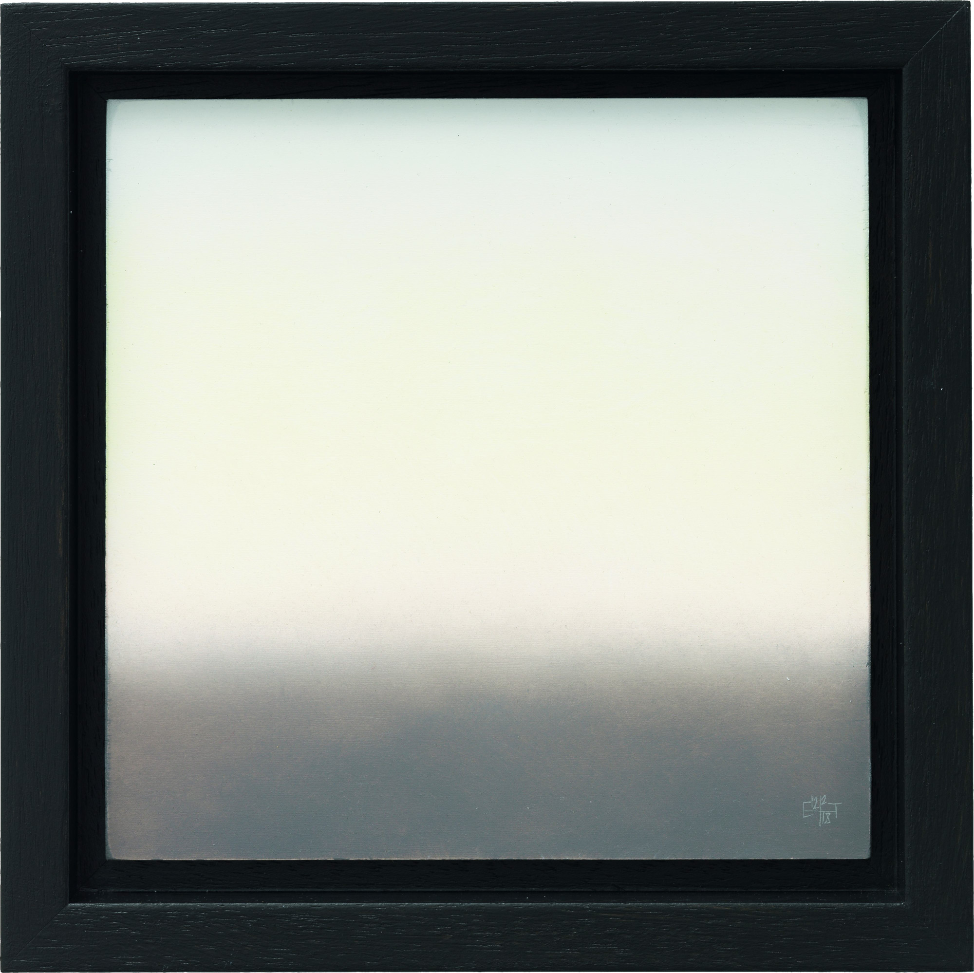 """Bild """"Himmel vom 15.10.2017, 08:18"""" (2018) (Unikat)"""