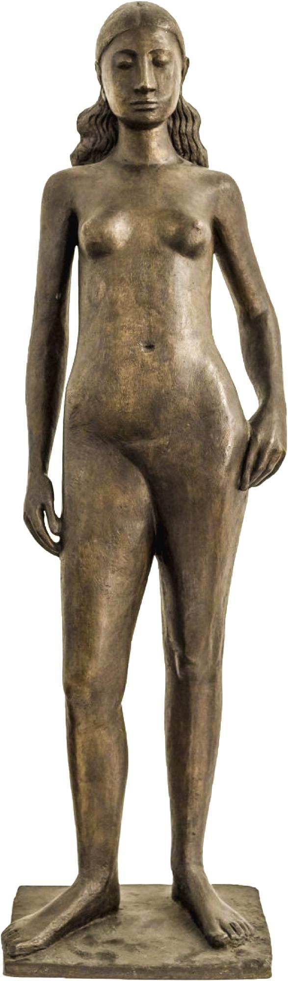 """Skulptur """"Melusine III"""" (1949), Bronze"""