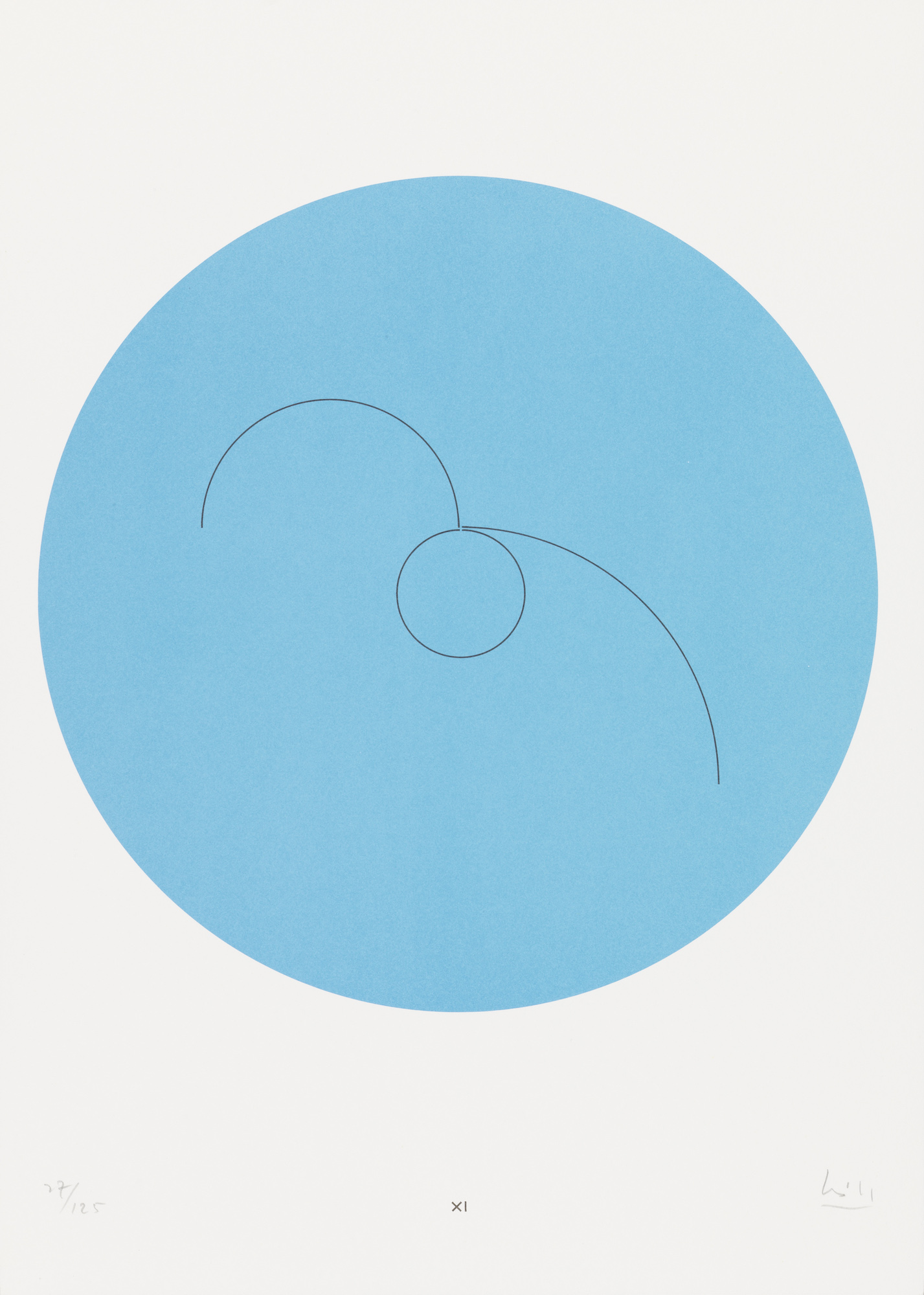 "Bild ""Constellations XI"" (1974)"