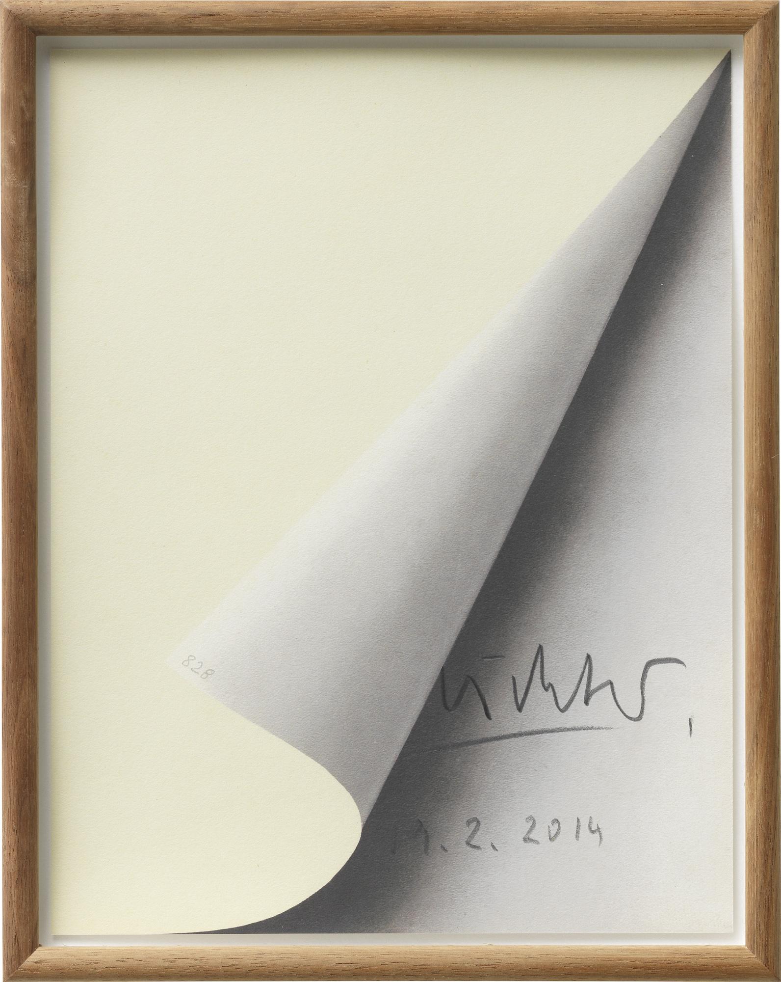"Bild ""Blattecke"" (1967)"