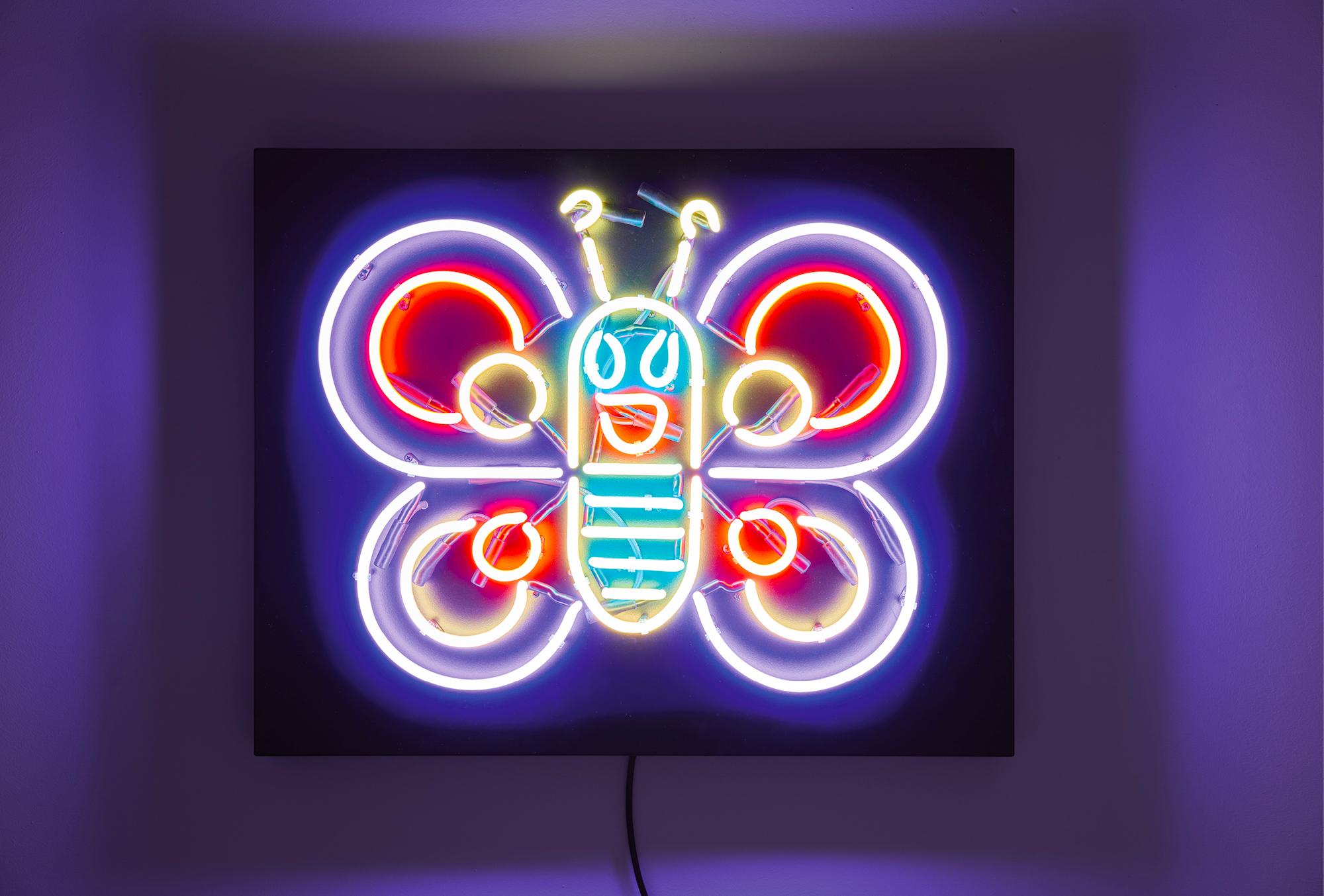 """Wandobjekt """"Schmetterling"""" (2020)"""