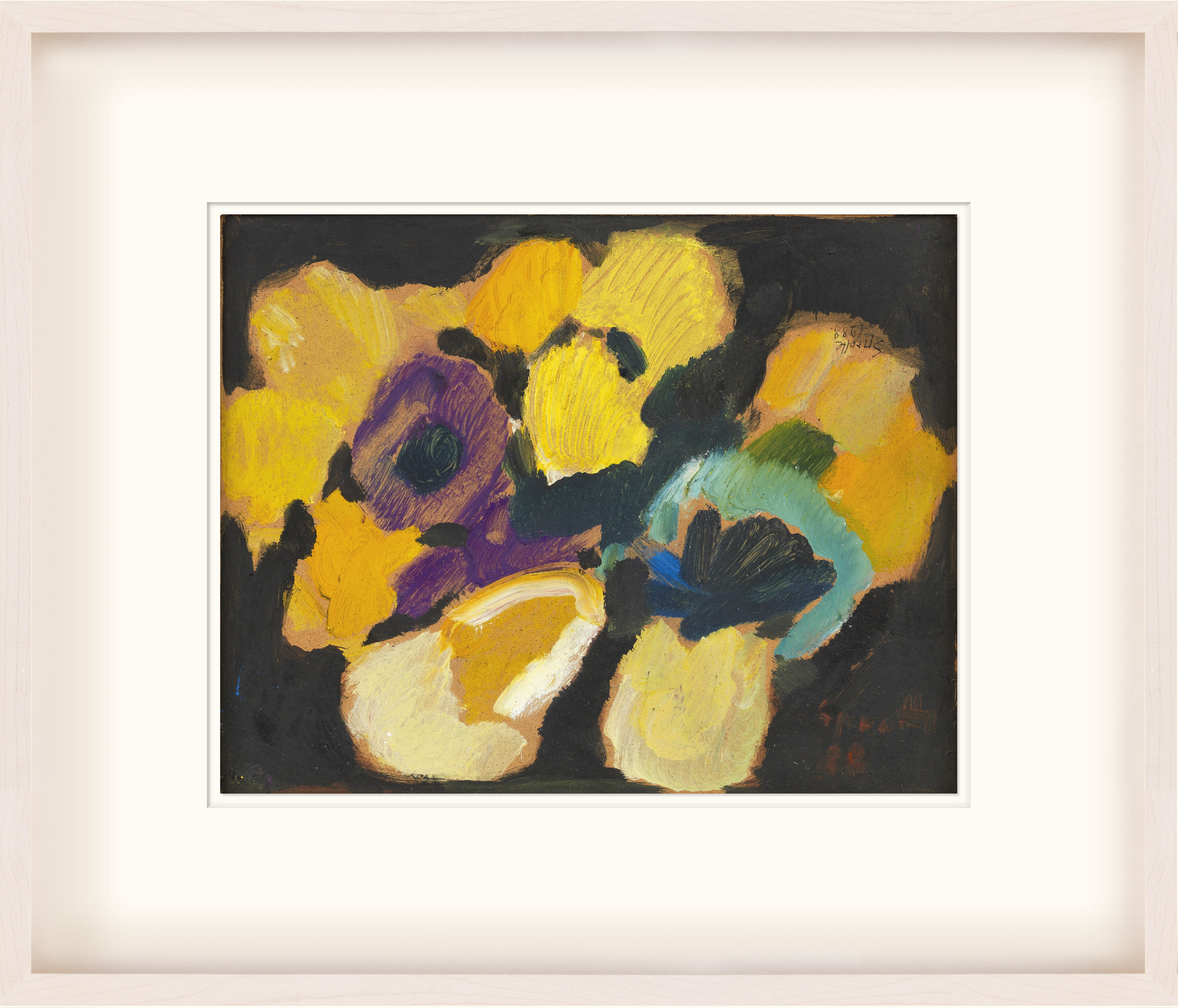 """Bild """"Blumen"""" (1988) (Unikat)"""