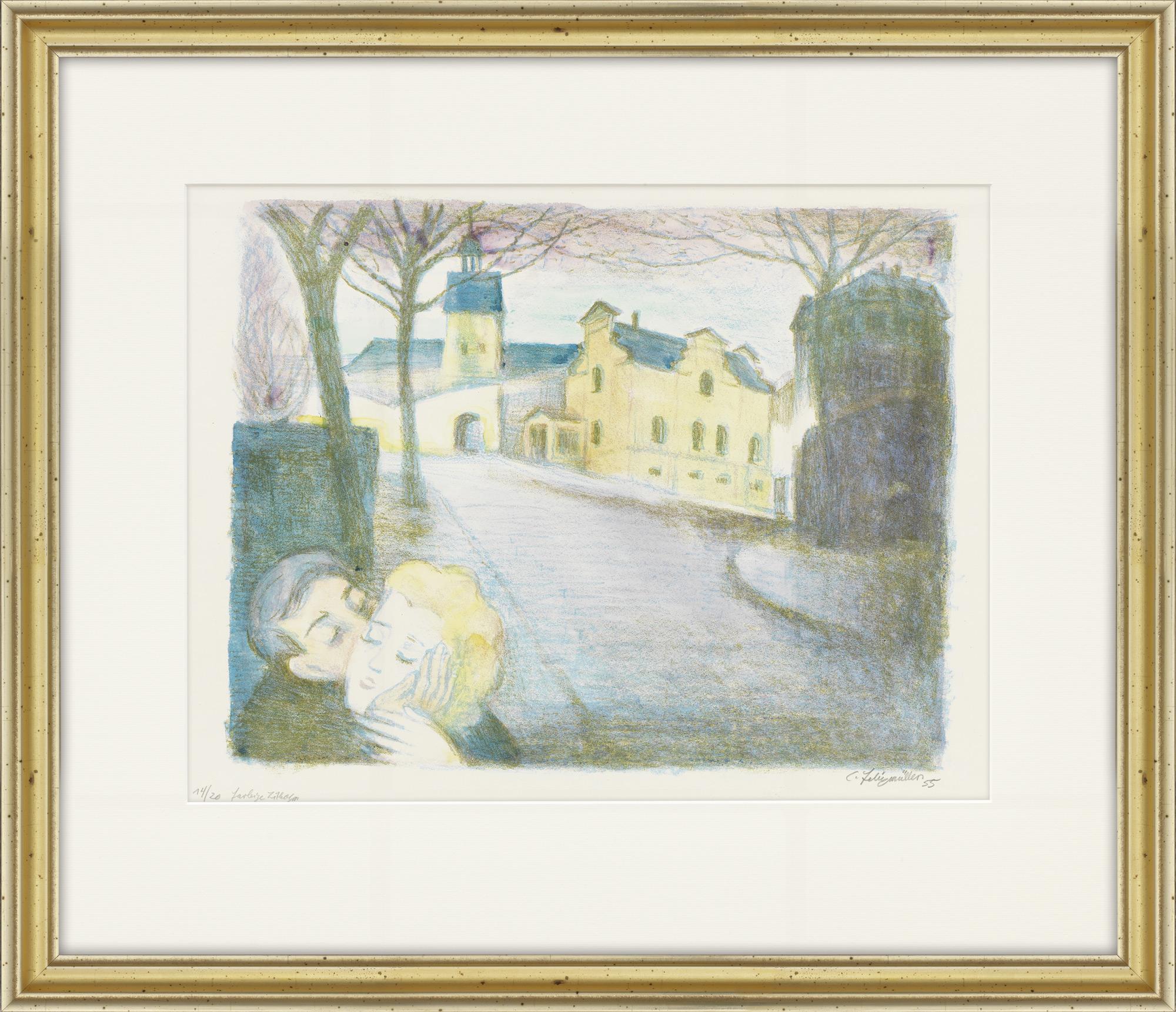"""Bild """"Liebespaar"""" (1955)"""