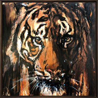 "Bild ""Tiger_13"" (2021) (Unikat)"