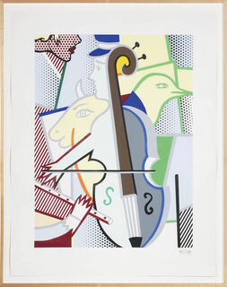 "Bild ""Cubist Cello"" (1997)"