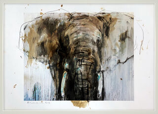 "Bild ""Elefant_24"" (2019) (Unikat)"