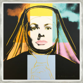 "Bild ""The Nun FS II.314, from the Portfolio ""Ingrid Bergman"""" (1983)"