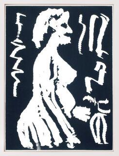 "Bild ""Frau im Profil"" (1987)"