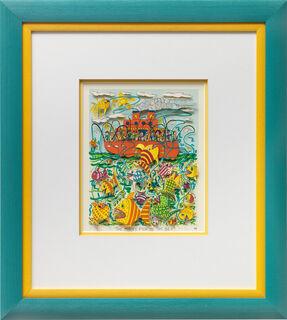 "Bild ""To many fish in the sea"" (1989)"