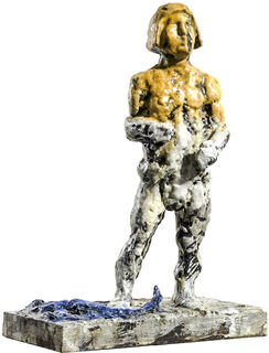 """Skulptur """"Skorpion"""" (2018), Bronze"""