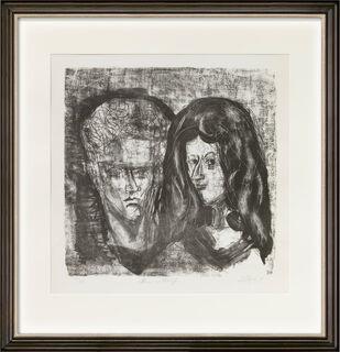 """Bild """"Mann und Mädchen"""" (1961)"""