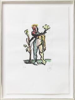 "Bild ""Daphne"" (2013/2017) (Unikat)"