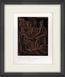 """Bild """"Le petit déjeuner sur l'herbe, d'après Manet"""" (1962)"""