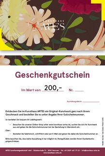 """Geschenkgutschein (Alex Katz """"Late Summer Flowers"""")"""