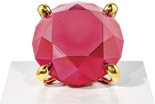 "Skulptur ""Red Diamond"" (2020)"