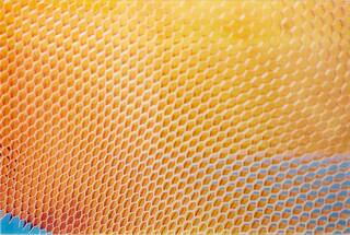 "Bild ""Lichtrelief II. aus Honeycomb Aluminium"" (1962 - 2006)"