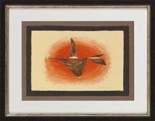 """Bild """"Au couchant (Oiseau XVI)"""" (1958)"""