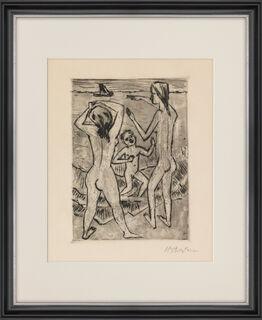 "Bild ""Am Strand"" (1924)"
