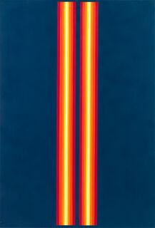 "Bild ""Rotes Doppellicht"" (1968) (Unikat)"