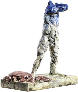 "Skulptur ""Krebs"" (2018), Bronze"