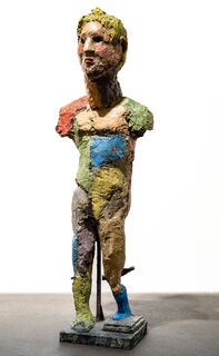 """Skulptur """"David"""" (2014), Bronze"""