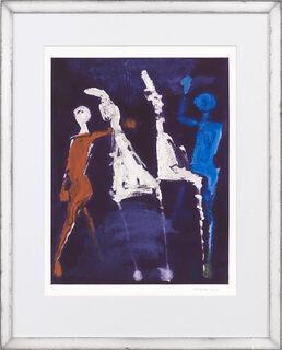 """Bild """"Marino from Shakespeare II, Tafel VIII"""" (1978)"""