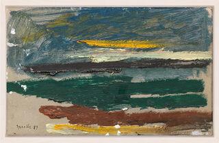 """Bild """"Landschaft auf Sylt"""" (1989) (Unikat)"""