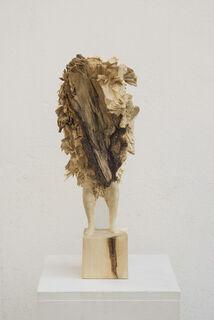 """Skulptur """"Ohne Titel"""" (2019) (Unikat), Holz"""