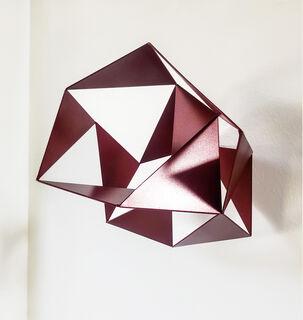 """Skulptur """"Cluster"""" (2020), Stahl"""