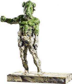 """Skulptur """"Widder"""" (2018), Bronze"""