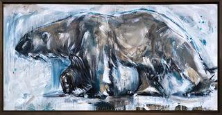 """Bild """"Polar Bear_26"""" (2020) (Unikat)"""