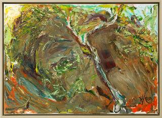 """Bild """"Kleiner Odenwald - Fries II"""" (2012) (Unikat)"""
