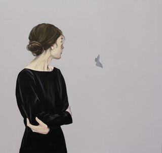 """Bild """"Schmetterling IX"""" (2020) (Unikat)"""