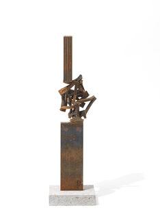 """Skulptur """"Drehung XXVII"""" (2021) (Unikat)"""