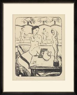 """Bild """"Mädchen im Raum"""" (1947)"""