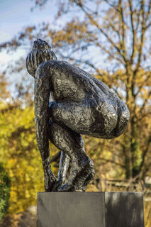 "Skulptur ""Springerin I"" (2018) (Bronze)"