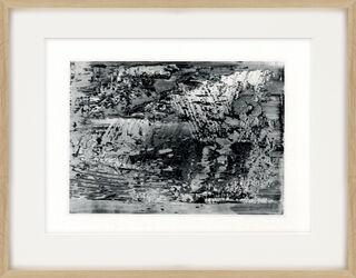 """Bild """"Abstraktes Foto"""" (1989)"""